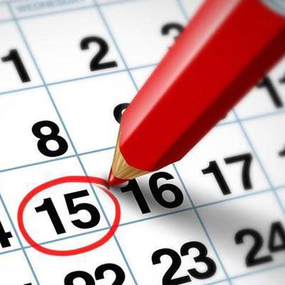 Σημαντικές Ημερομηνίες